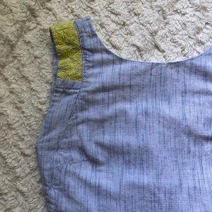J Crew Embroidered Smock Dress 🌼